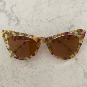 Ganni cat eye sunglasses *brand new*